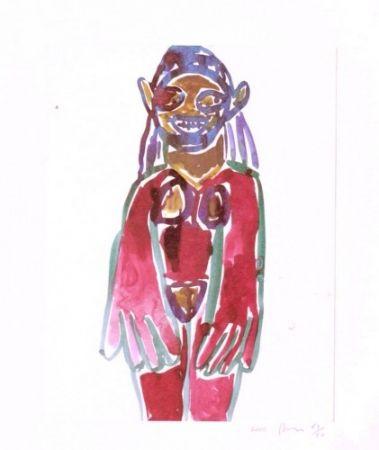 Литография Prince - Hippie Drawing