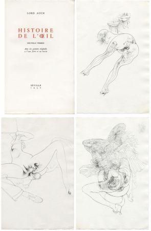 Иллюстрированная Книга Bellmer - HISTOIRE DE L'OEIL. Nouvelle version. Avec six gravures originales à l'eau-forte et au burin.