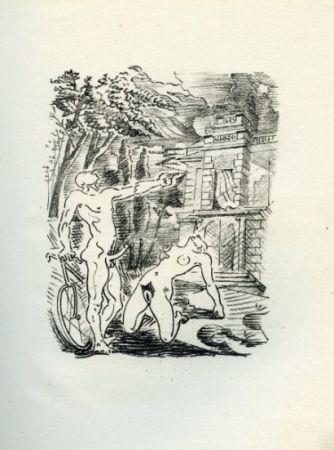 Иллюстрированная Книга Masson - Histoire de l'oeil, par Lord Auch