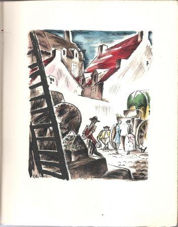 Иллюстрированная Книга Bonfils - Histoire de Manon Lescaut et du Chevalier des Grieux.