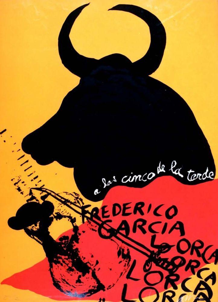 Многоэкземплярное Произведение Arman - Homage to Federico Garcia Lorca