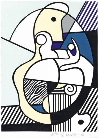 Сериграфия Lichtenstein - Homage To Max Ernst