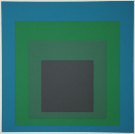 Сериграфия Albers - Homage to the Square