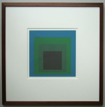 Сериграфия Albers - Homage to the Square