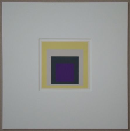 Сериграфия Albers - Homage to the Square - Dedicated