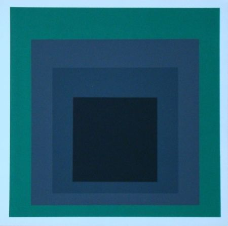 Сериграфия Albers - Homage to the Square - Grisaille and Patina, 1965