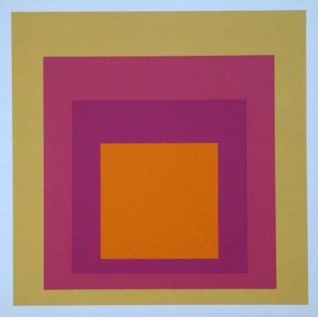 Сериграфия Albers - Homage to the Square - La Tehuana, 1951-1956