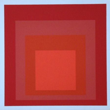 Сериграфия Albers - Homage to the Square - R-III a-4, 1968
