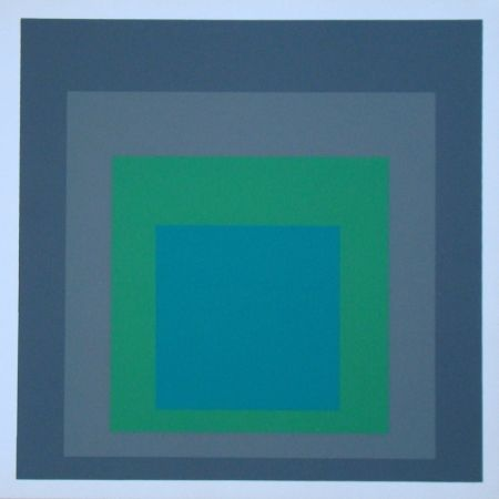 Сериграфия Albers - Homage to the Square - Renewed Hope, 1962