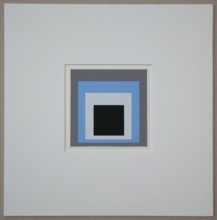 Сериграфия Albers - Homage to the Square - Unconditioned
