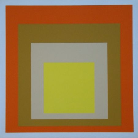Сериграфия Albers - Homage to the Square - Yes Sir, 1955