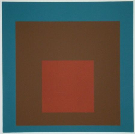Сериграфия Albers - Homage to the Square at night, 1958