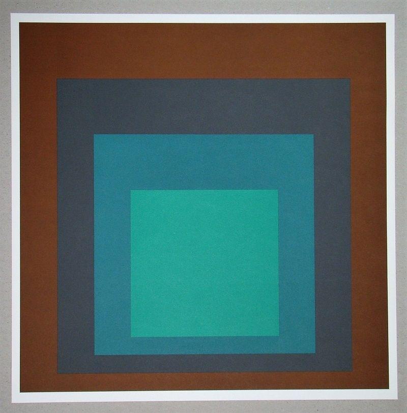 Сериграфия Albers - Homage to the Square SP-1
