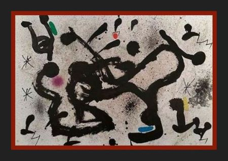 Литография Miró -