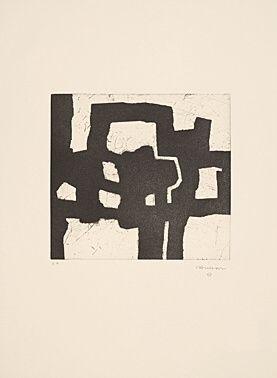 Офорт И Аквитанта Chillida - Homenaje a Picasso