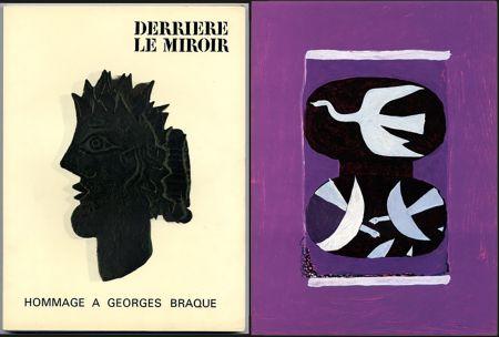 Иллюстрированная Книга Braque - HOMMAGE À GEORGES BRAQUE. Derrière le miroir N°144-145-146. Mai 1964.