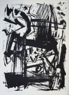 Литография Vedova - Hommage à Joan Prats