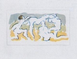 Литография Tanning - Hommage à Penrose
