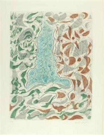 Офорт И Аквитанта Masson - Hommage à Picasso