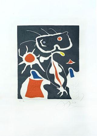 Гравюра Miró - Hommage à San Lazzaro