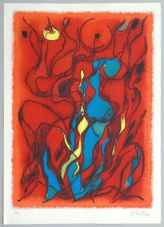 Литография Singier - Hommage a Fellini