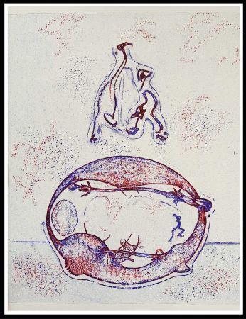Литография Ernst - HOMMAGE A MAX ERNST