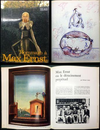Иллюстрированная Книга Ernst - HOMMAGE A MAX ERNST - XXe Siècle - N° spécial 1971.