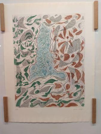 Литография Masson - Hommage a Picasso