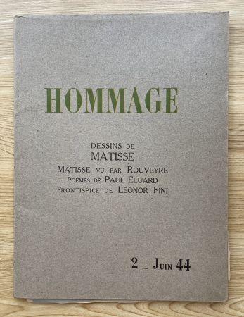 Фотографии Matisse - Hommage, Dessins de Matisse (
