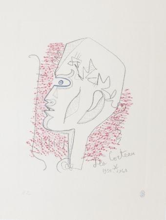 Литография Cocteau - Hommage Jean Cocteau 17