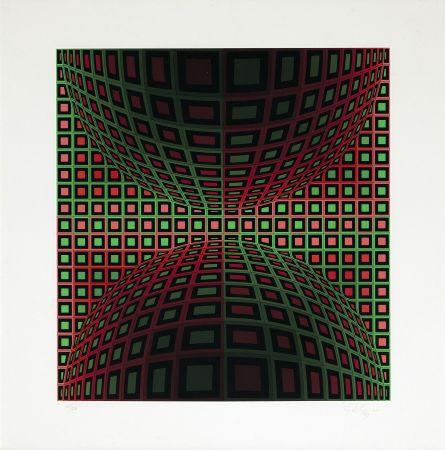 Сериграфия Vasarely - Homok