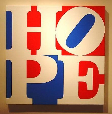 Сериграфия Indiana - HOPE  W/R/B