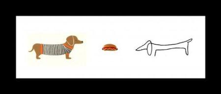 Литография Leirner - Hot Dog