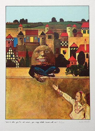 Сериграфия Blake - Humpty Dumpty...