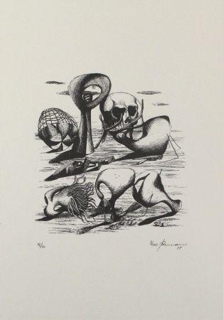 Литография Zimmermann - Hundert Jahre später