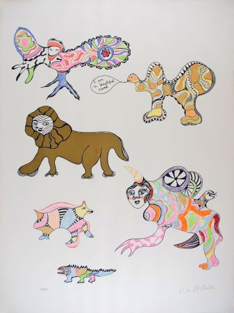 Сериграфия De Saint Phalle - I am a beautiful camel (Nana Power)