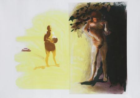 Офорт И Аквитанта Fischl - I from Beach Scenes Series