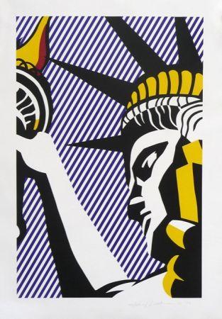 Сериграфия Lichtenstein - I Love Liberty