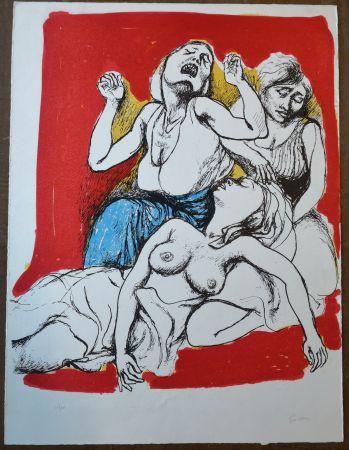 Литография Guttuso - I Vespri Siciliani