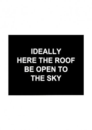 Гравюра Prouvost  - Idealy here the roof be open to the sky