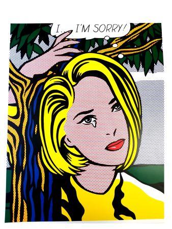 Литография Lichtenstein - I...I'm sorry