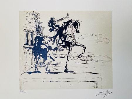 Литография Dali - Il Giudice