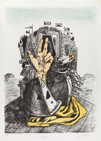 Литография De Chirico - IL TROFEO