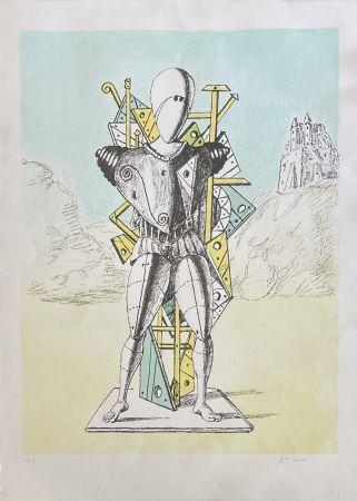 Литография De Chirico - IL TROVATORE