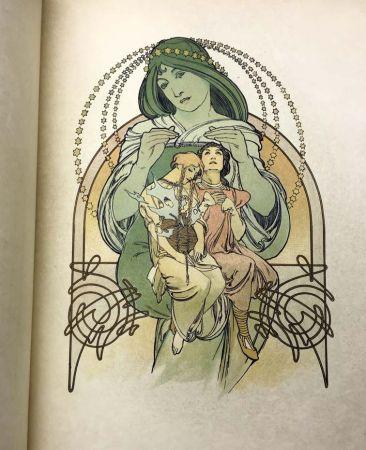 Иллюстрированная Книга Mucha - ILSÉE, PRINCESSE DE TRIPOLI. 132 lithographies de Mucha