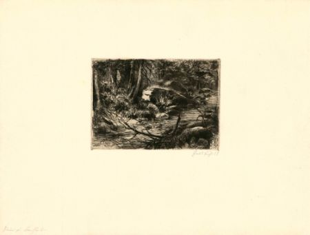 Гравюра Fuchs - Im Wald