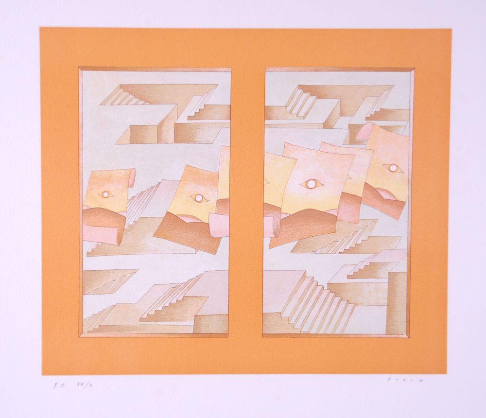Литография Folon - Image pour Berggruen