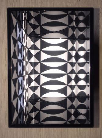 Многоэкземплярное Произведение Le Parc - Image virtuel par déplacement