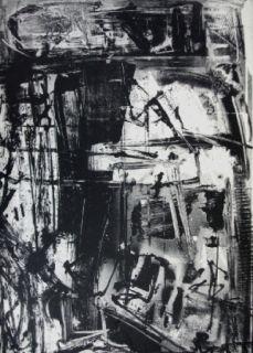 Литография Vedova - Immanente 3