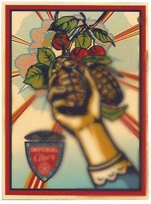 Сериграфия Fairey - Imperial Glory